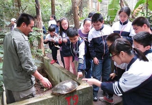 Mô hình bảo tồn Động vật kết hợp với giáo dục môi trường