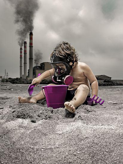 Hãy giải thoát trẻ em khỏi những thảm họa môi trường