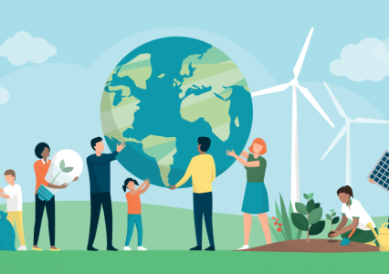 Dạy về biến đổi khí hậu trong nhà trường